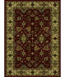 RugStudio presents Radici Usa Castello Series 460 Burgundy Machine Woven, Good Quality Area Rug